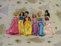collection of disney princesses