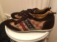 Brand new Gucci men's shoes size 8 free Gucci belt