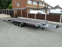Brian James Tri Axle 5 meter car trailer, car transporter