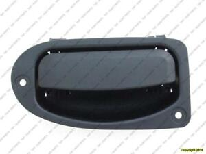 Door Handle Outer Rear Driver Side Textured Black Mazda Pickup 1998-2009