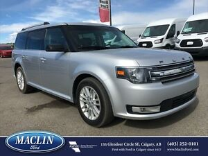2013 Ford Flex SEL, Leather, Backup Camera, Duel Moonroof
