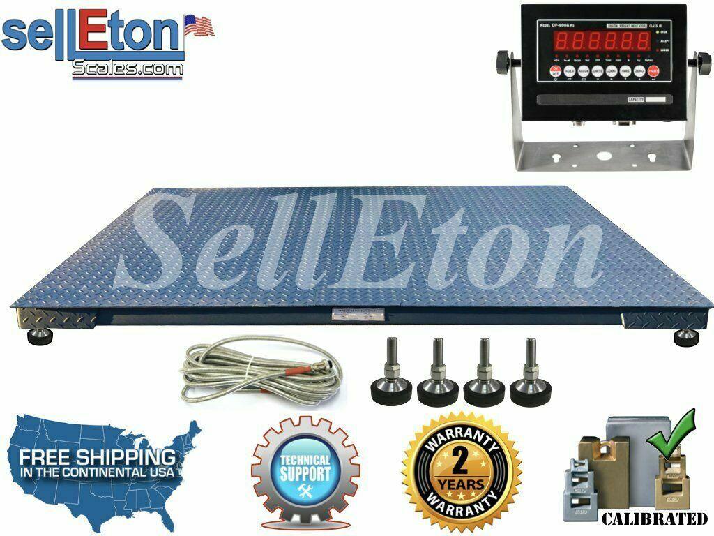 Selleton Industrial//Warehouse Digital Heavy Duty Crane Scale with 1000 Lbs X .2 Lb