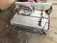 Rexon electric tile saw