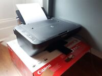 Canon All in One Printer - Only 4 months of light use, comes with cords, paper and software