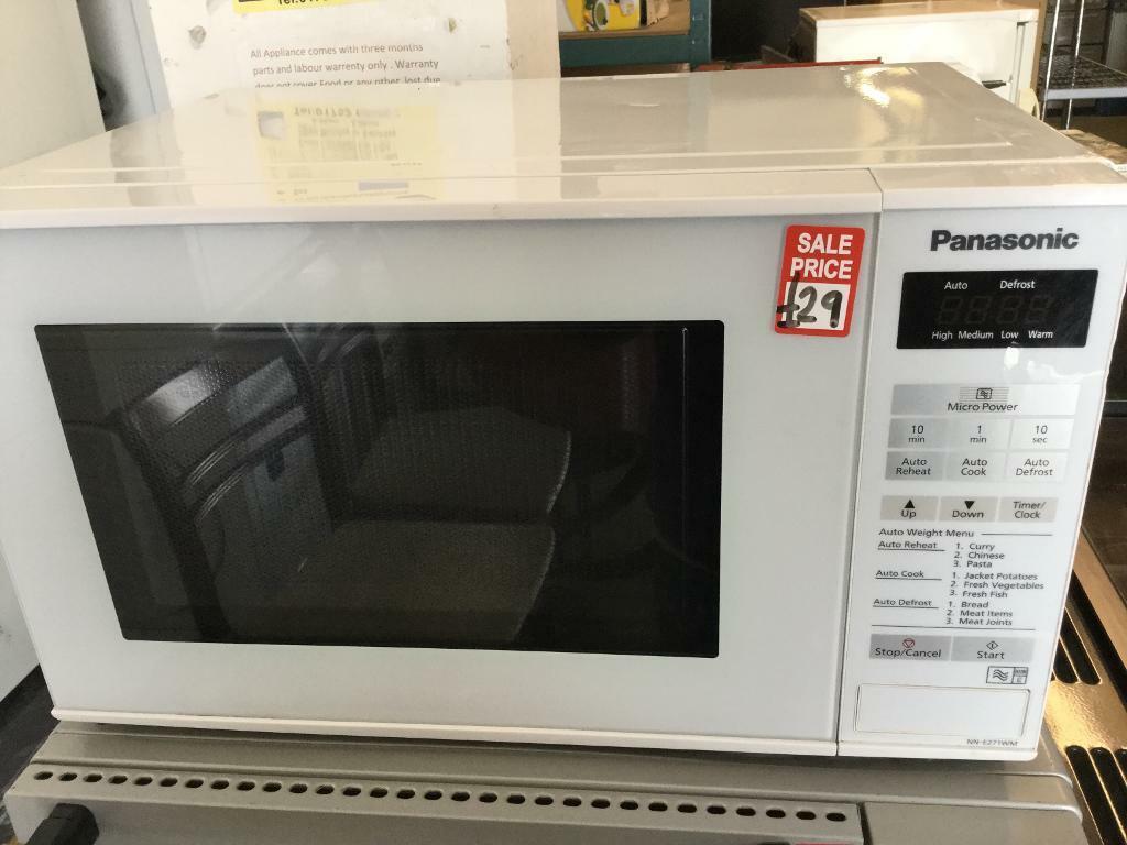 Panasonic White Digital Microwave Oven | in Plymouth, Devon | Gumtree