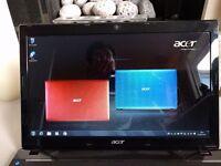 Acer Aspire Laptop, 5750Z Intel Dual B940, 500GB HD, 4GB RAM, Windows 7, Extensively Refurbed