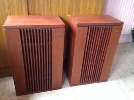 Vintage KEF K2 Duette 2 way speakers (Very heavy)