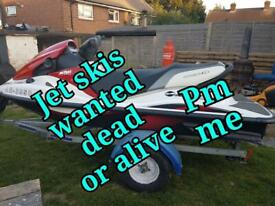 Jetski's wanted working or not Any condition