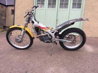 Beta rev 3 270cc rev3 trials bike