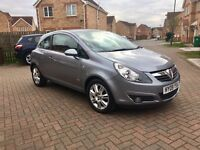 2009 VAUXHALL CORSA 1.2 DESIGN, LEATHER, MOT 12 MONTHS, NEW TYRES, LOW MILEAGE, HPI CLEAR