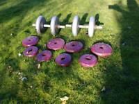 50kg Weights