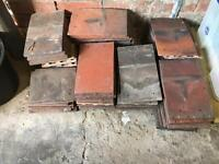 Approx 60 x Clay Roof Tiles 1930's
