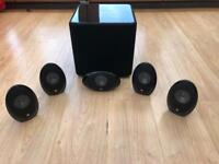 KEF KHT1005.2 5.1 home theatre speakers