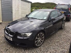 BMW M3 manual black 2008