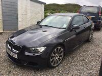 BMW M3 manual black 2008