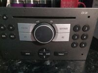Original Vauxhall Corsa cd unit