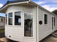 2 bed 12 foot wide static caravan for sale at Trecco Bay Holiday Park, Porthcawl, South Wales
