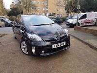TOYOTA PRIUS T SPIRIT UK MODEL VERY CLEAN NICE CAR ONE OWNER FULL HISTORY PCO VALID FULLY LOADED CAR