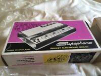 stylophone complete with box and instructions
