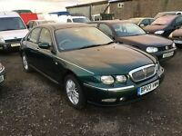 2003 ROVER 75 LOW MILEAGE BEAUTIFULL FAMILY SALOON IN LOVELY CONDITION SUPERB INTERIOR ANY TRIAL