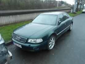 Audi A8 D2 2.8 Petrol Auto Breaking For Parts Audi A8