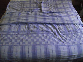 King size quilt cover and two pillow cases.
