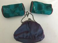Job Lot of 3 lovely Makeup Bags - all unused - Only £1 for all 3!