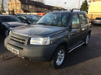 LAND ROVER FREELANDER 2.5 V6 ES AUTOMATIC PETROL FULL COMPREHENSIVE SERVICE HISTORY HEATED LEATHERS