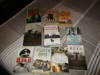 10 War Books various £5 the Lot