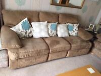 3 seater and single seated sofa