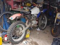Honda 125 enduro bike
