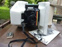 Vintage old collectible useable Polaroid Camera BOXED
