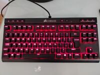 Corsair K63 compact ten key-less mechanical gaming Keyboard - boxed & less than a month old!