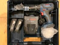 Bosch GSB18-2VLI combi drill with batteries kit 2 x 1.5Ah