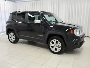 2017 Jeep Renegade BE SURE TO GRAB THE BEST DEAL!! LIMITED 4X4 W