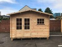 Luxury Wooden Log Cabin Summerhouse