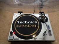 1 X Technics SL-1200 Mk2 Turntable With Original Lid & Ortofon Needle