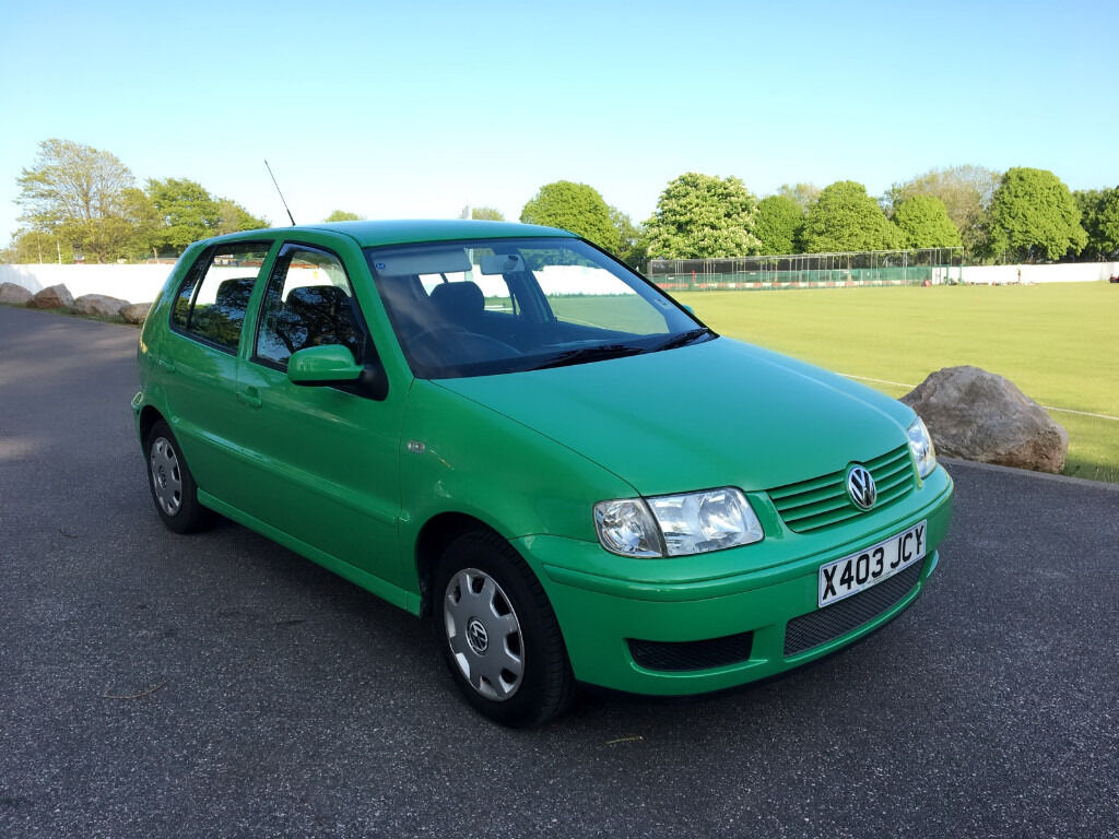 2000 Volkswagen Polo S Sdi 1 9 Diesel  1 P Owner  F  S  H  New Clutch  In New Condition