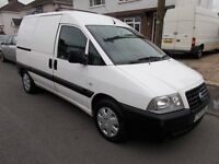 2005 Fiat Scudo 2.0 jtd sx diesel van clean and tidy drives well no vat