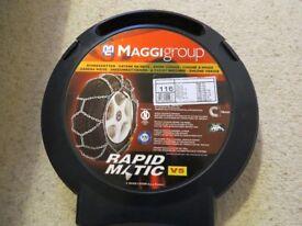 Maggi heavy duty snow chains