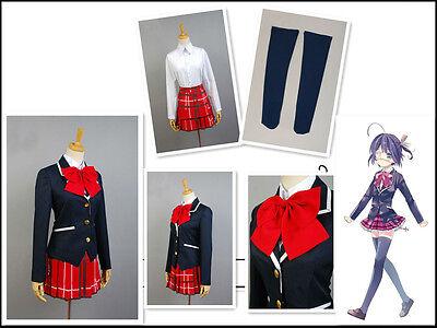 Chuunibyou Demo Koi ga Shitai! Takanashi Rikka School Uniform cosplay - Takanashi Rikka Kostüm