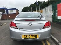 2012 (12 reg) Vauxhall Insignia 2.0 CDTi 16v Exclusiv 5dr Turbo Diesel 6 Speed Manual Low Miles