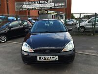 Ford Focus 1.6 i 16v LX 5dr , PART SERVICE HISTORY,2 KEYS,