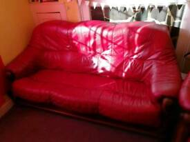 3 Seater Sofa and Arm chair.