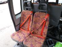 Minibus Seat Double