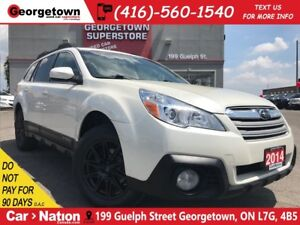 2014 Subaru Outback LIMITED NAVI| LEATHER| ROOF|  BLACK EDITION