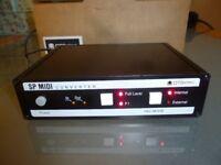 OTBelectronics SPMIDI Rev B - EMU SP12 1200 AKAI S900 S950