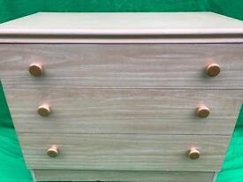 Melamine chest of drawers FREE DELIVERY PLYMOUTH AREA