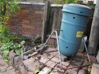 Compost bin tumbler