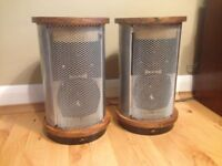 PAIR OF VGC CLASSIC ROGERS JR 149 SPEAKERS MATCHED SN, KEF DRIVERS
